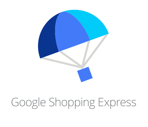 Il logo di Google shopping express, nuovo e-commerce di Google