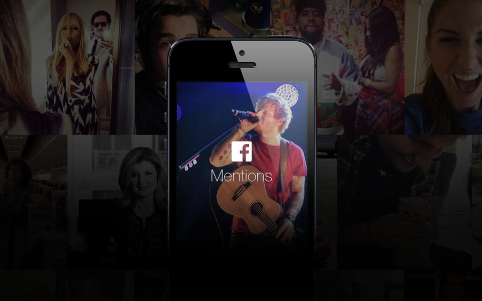 Facebook sceglie Ed Sheeran per introdurre Mentions, il servizio che consentirà ai personaggi pubblici di migliorare l'esperienza con il proprio audience.