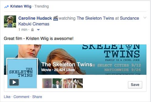 facebook trending topic