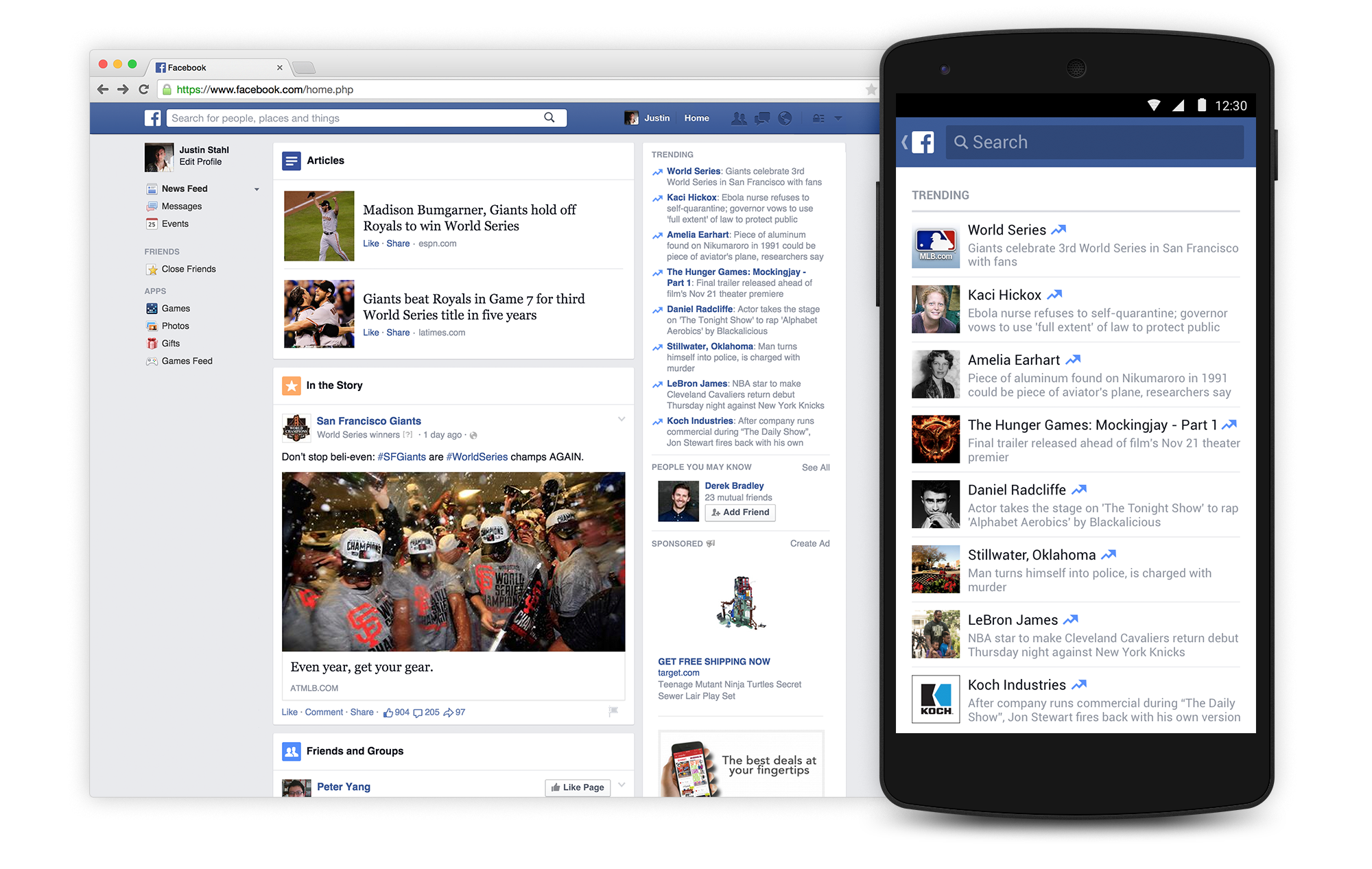 facebook annuncia i trending topic