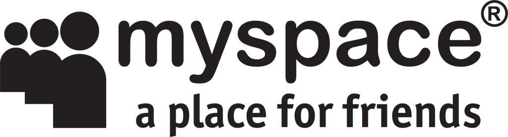 logo myspace a place for friends