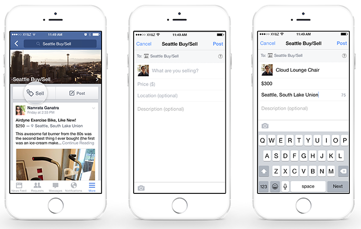 facebook trasforma i gruppi in e-commerce