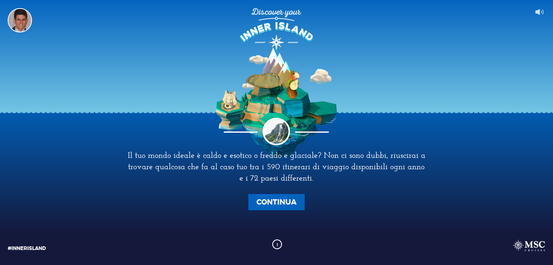 inner island il progettodi gamification di msc crociere