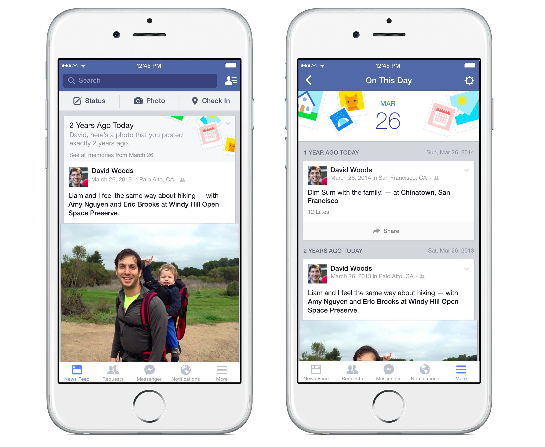 facebook accadde oggi