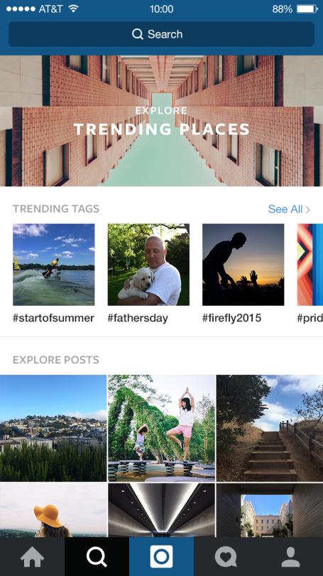 instagram trending places