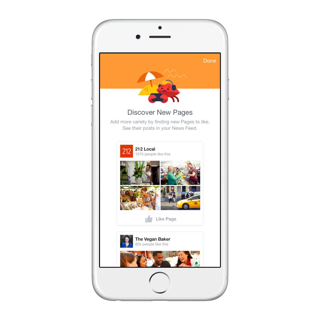 Facebook predispone nuovi strumenti per la gestione dei contenuti sul news feed: scopri nuove pagine