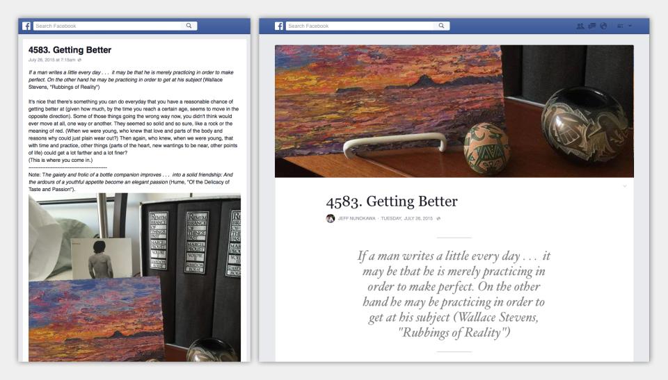 Facebook lancia le nuove note e si appresta a diventare il principale servizio di blogging