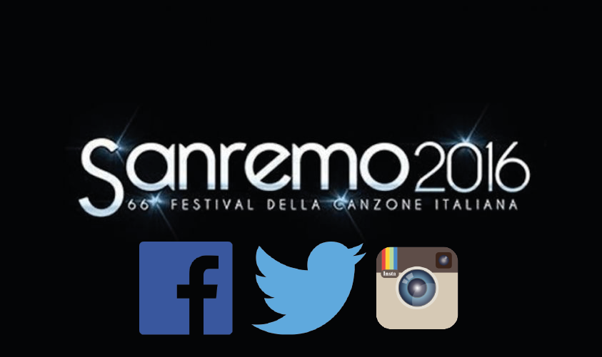 sanremo social second screen