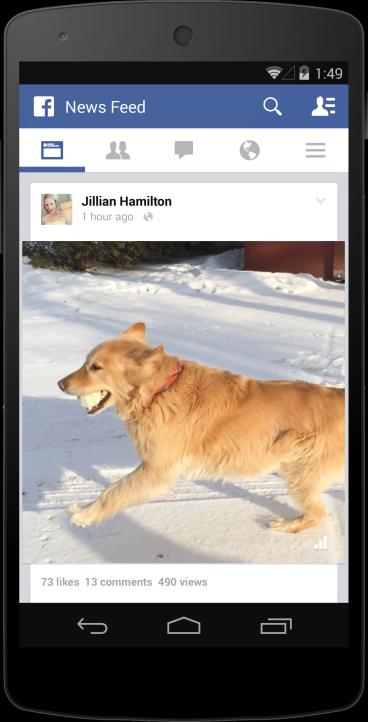 Facebook annuncia e si appresta a proporre le views relative ai video pubblicati sulla piattaforma