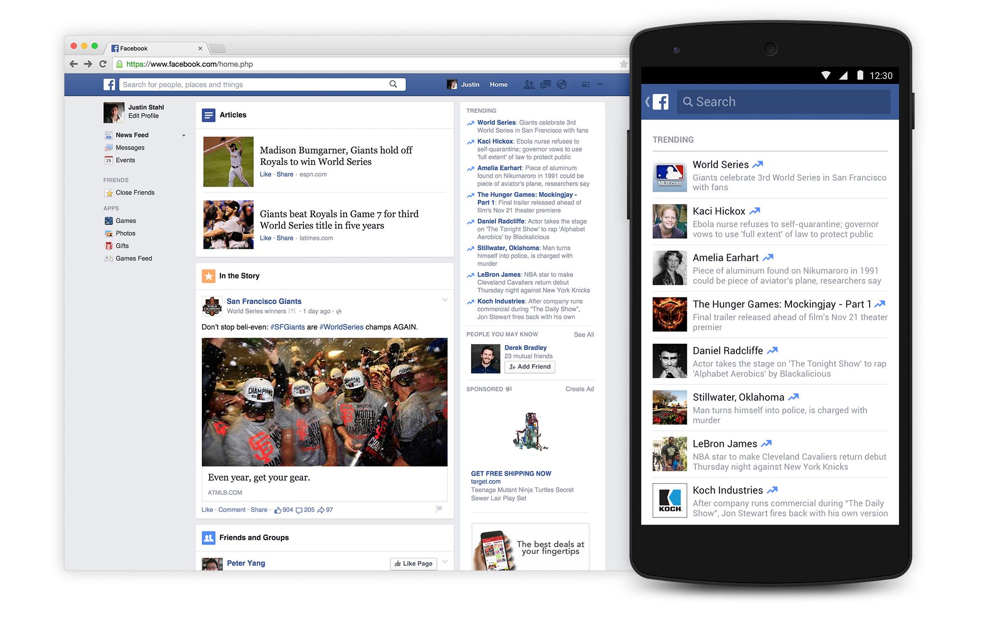 facebook annuncia i trending topic
