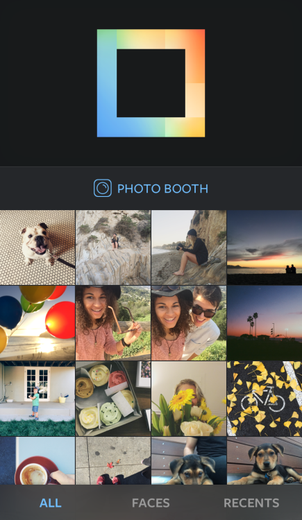 instagram layout photo boot