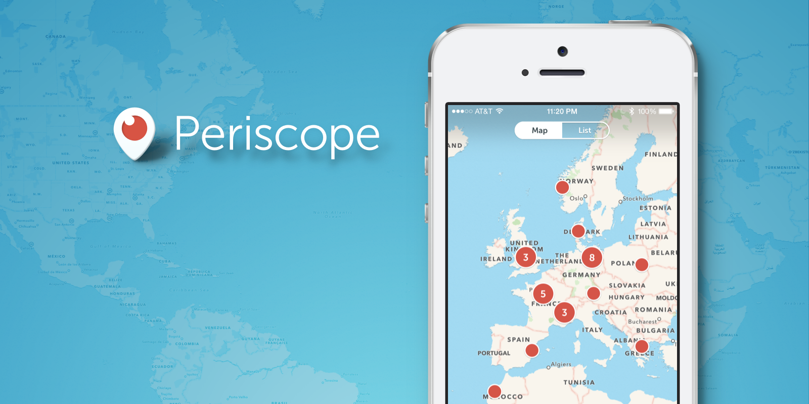 periscope map view